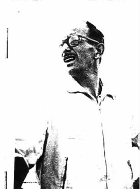 אדולף אייכמן הצורר, באחד הצילומים הבלעדיים לפני לכידתו.