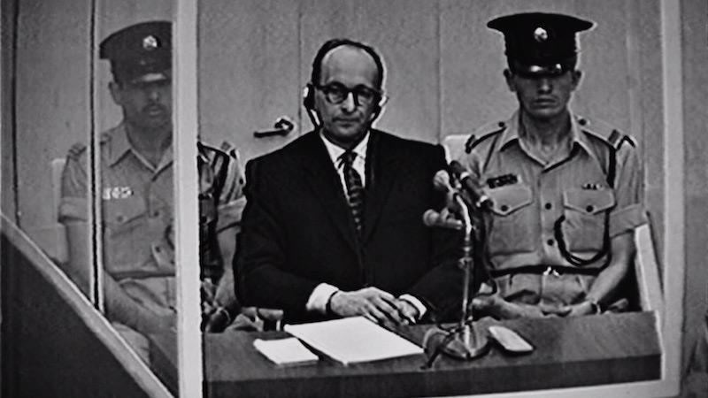 אדולף אייכמן במשפטו