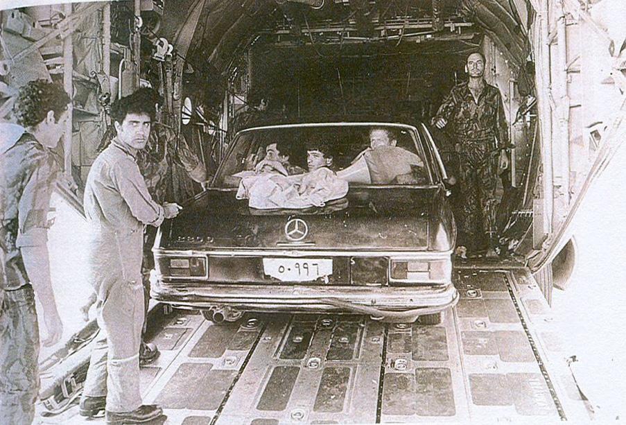 מבצע אנטבה- העתק של מכונית המרצדס של אידי אמין