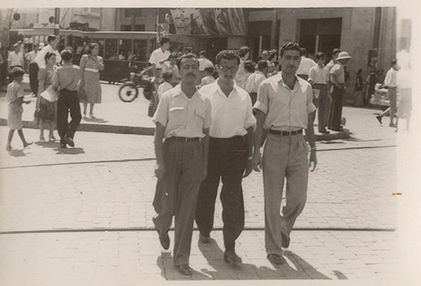 המסתערבים הראשונים ברחובות ביירות