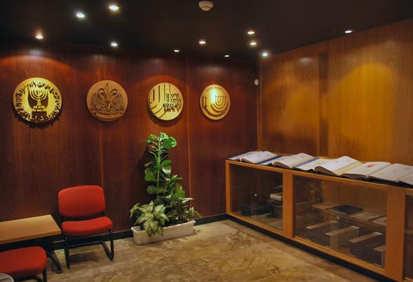 חדר הנצחה לגמלאים