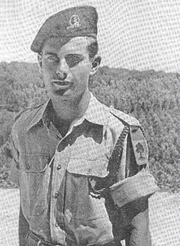 אורי כסמל, מדריך ומפקד בגולני.